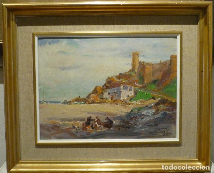 Arte: TOSSA DE MAR POR DOMENECH CARLES (1888-1962) - Foto 2 - 92924995