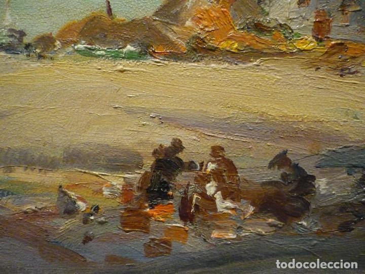 Arte: TOSSA DE MAR POR DOMENECH CARLES (1888-1962) - Foto 4 - 92924995