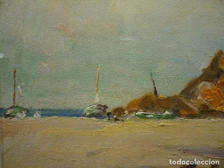 Arte: TOSSA DE MAR POR DOMENECH CARLES (1888-1962) - Foto 5 - 92924995
