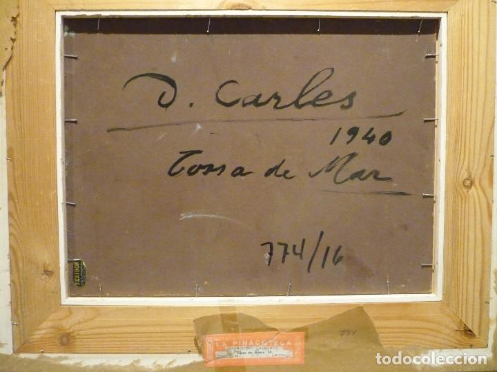 Arte: TOSSA DE MAR POR DOMENECH CARLES (1888-1962) - Foto 7 - 92924995