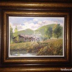 Arte: ANTONI M. SADURNI, ÓLEO SOBRE TABLA. Lote 92996040