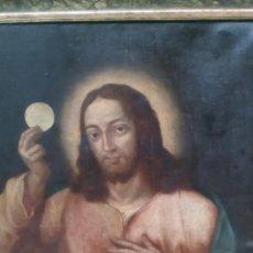 Arte: CRISTO EN LA ÚLTIMA CENA, ESCUELA ESPAÑOLA. Lote 93073635