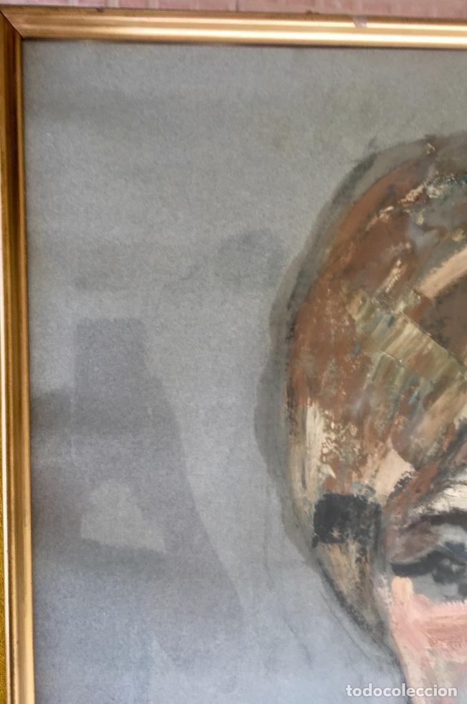 Arte: Cuadro al oleo maria joaquina cortinas escuela gutierrez navas retrato mujer enmarcado y con cristal - Foto 9 - 93251455