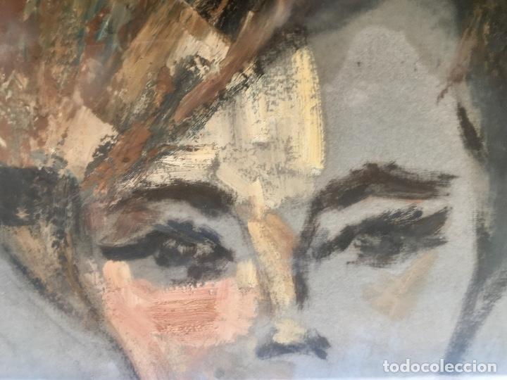 Arte: Cuadro al oleo maria joaquina cortinas escuela gutierrez navas retrato mujer enmarcado y con cristal - Foto 13 - 93251455