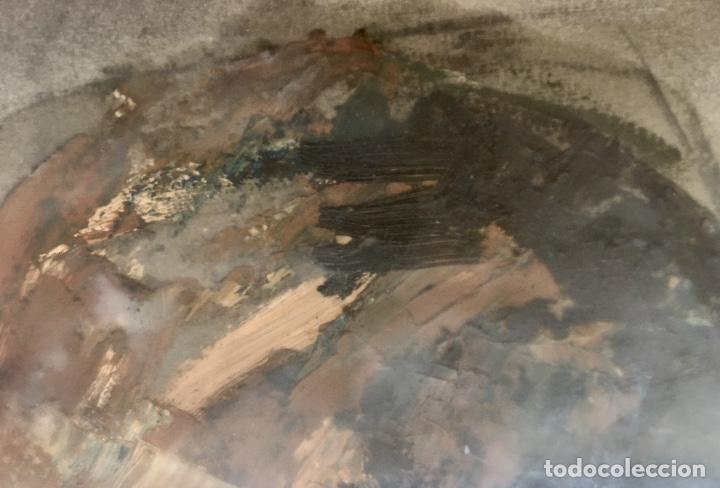 Arte: Cuadro al oleo maria joaquina cortinas escuela gutierrez navas retrato mujer enmarcado y con cristal - Foto 14 - 93251455