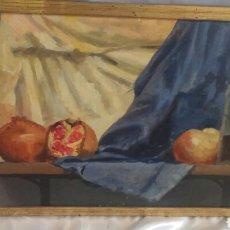 Arte: OLEO SOBRE TABLA FIRMADO Y FECHADO. Lote 93581437
