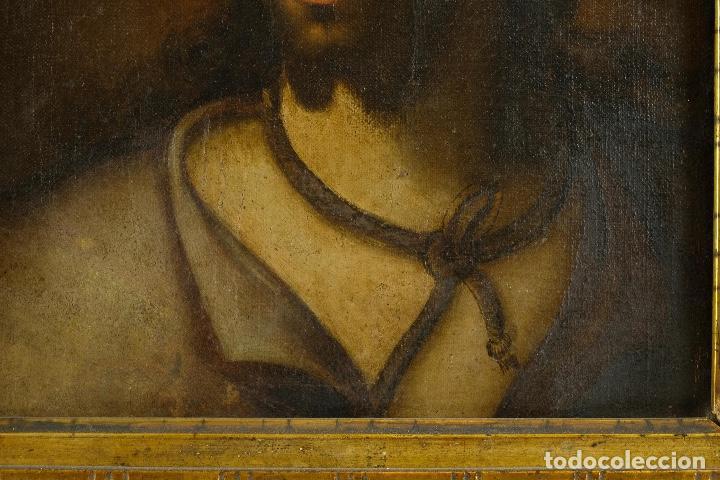 Arte: óleo sobre lienzo Ecce Homo escuela colonial siglo XVIII - Foto 5 - 93685790