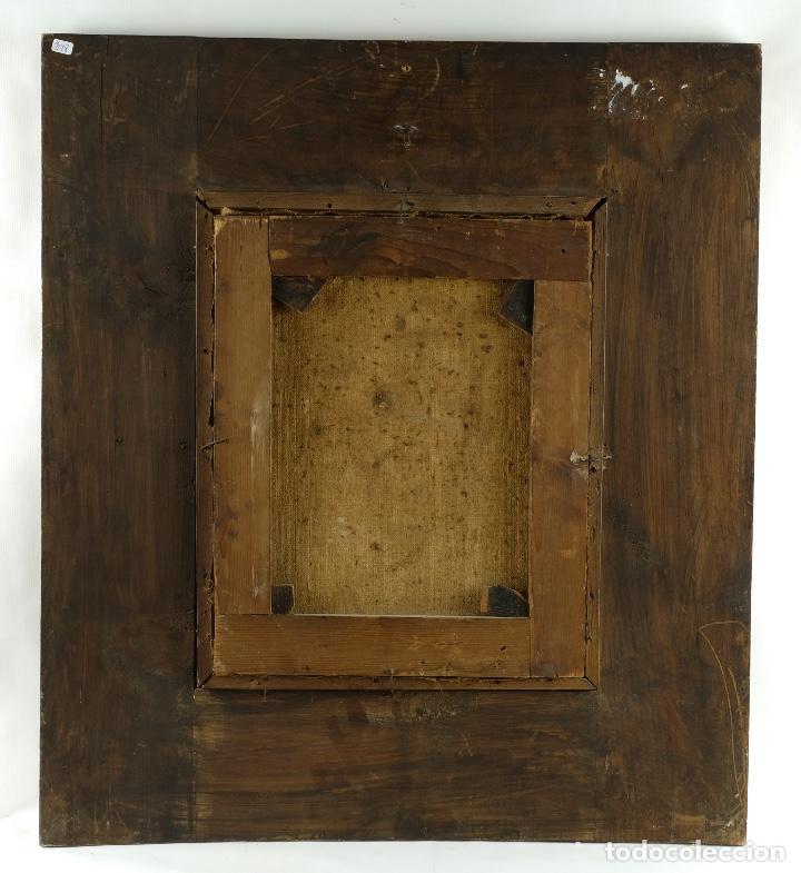 Arte: óleo sobre lienzo Ecce Homo escuela colonial siglo XVIII - Foto 6 - 93685790
