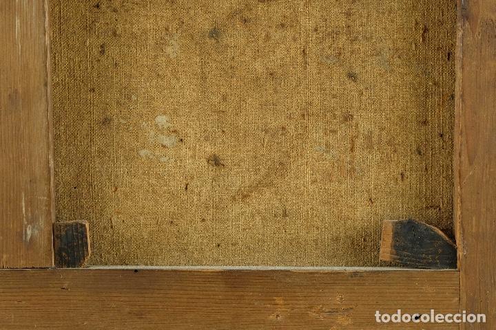 Arte: óleo sobre lienzo Ecce Homo escuela colonial siglo XVIII - Foto 8 - 93685790