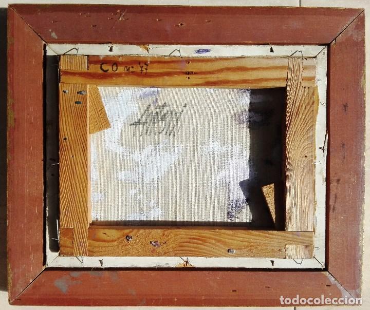 Arte: ANTONI TRULLS PONS - OLEO SOBRE TELA - ENMARCADO 35 X 30 - Foto 2 - 93747875