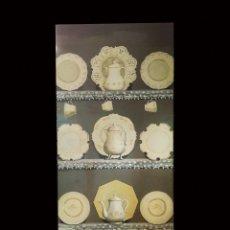 Arte: TABLA PINTADA AL OLEO CON VAJILLA, TAZAS, PLATOS, JARRAS....PRECIOSA.. Lote 93768870
