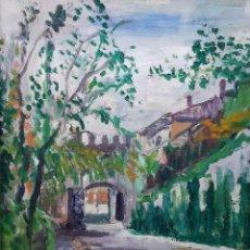 Arte: IGNASI MUNDÓ MARSET (1918 - 2012) - CALLE BARON DE LA BARRE, BARCELONA 2002. Lote 93955435
