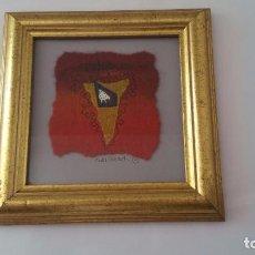 Arte: OBRA DE ARTE SOBRE TELA - FIRMADO Y ENMARCADO - 20 X 20 CM. Lote 94004765