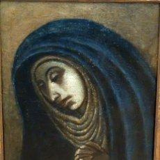 Arte: ESCUELA ESPAÑOLA SIGLO XVIII. OLEO EN TELA ARPILLERA. PIEDAD. CON INFORME DE RAMON TRIADO. Lote 94298178