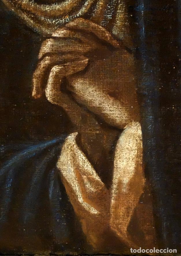 Arte: ESCUELA ESPAÑOLA SIGLO XVIII. OLEO EN TELA ARPILLERA. PIEDAD. CON INFORME DE RAMON TRIADO - Foto 5 - 94298178