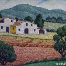 Kunst - Lluís Puig Barella. Paisaje. Óleo sobre tela - 94309210