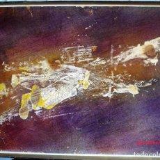 Arte: PINTURA ABSTRACTA, FIRMADA, Y FECHADA 62. ACRÍLICO SOBRE PAPEL. Lote 94327026