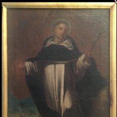 Arte: SAN FRANCISCO JAVIER. ESCUELA SEVILLANA SIGLO XVII. ESCUELA DE ZURBARAN. ÓLEO SOBRE LIENZO.. Lote 94491382