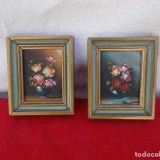 Arte: 2 PEQUEÑAS PINTURAS. Lote 94918859