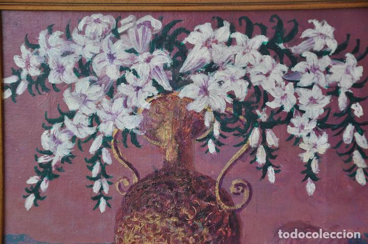 Arte: J. BOLA BARRIONUEVO - ACRILICO SOBRE LIENZO - ANTEQUERA - 1996 - TORREMOLINOS - Foto 2 - 94995011