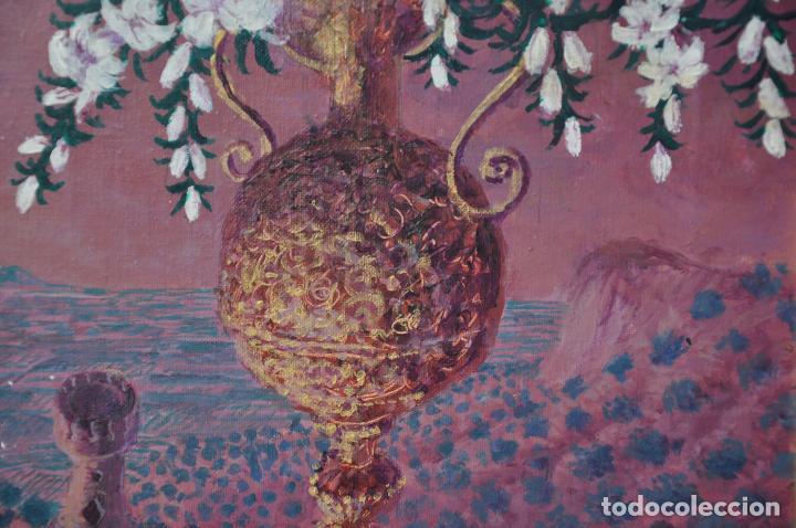 Arte: J. BOLA BARRIONUEVO - ACRILICO SOBRE LIENZO - ANTEQUERA - 1996 - TORREMOLINOS - Foto 3 - 94995011