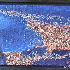 Art: J. BOLA BARRIONUEVO - TECNICA MIXTA SOBRE LIENZO - LITORAL DE MALAGA 1996. Lote 94995191
