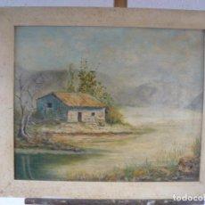 Arte: OLEO / TABLEX - FIRMADO RIOSCA - PAISAJE . Lote 95080463