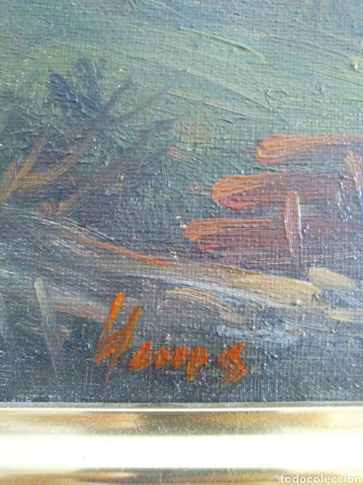Arte: Cuadro al oleo antiguo - Foto 2 - 95113092