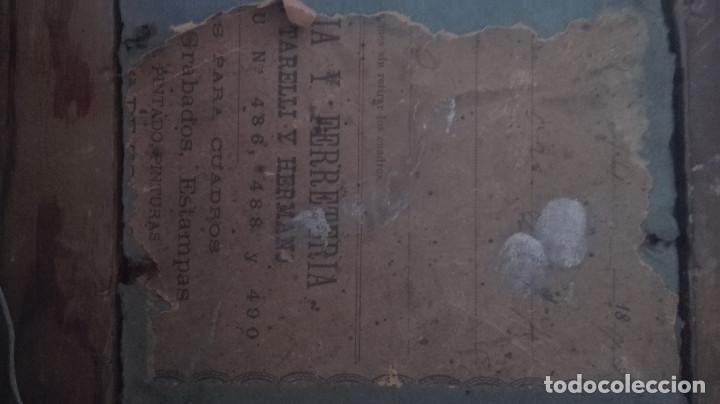 Arte: cuadro antiguo óleo sobre tabla - Foto 5 - 95133883