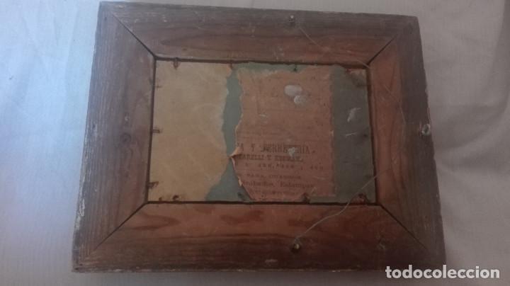 Arte: cuadro antiguo óleo sobre tabla - Foto 6 - 95133883