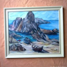 Arte: OLEO SOBRE TABLA.. Lote 95159423