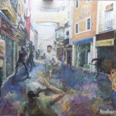 Arte: TRISTES PRESENTIMIENTOS DE LO QUE HA DE ACONTECER. COLECCIÓN GOYA EN LA ACTUALIDAD. Lote 95217967