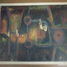 Arte: CUADRO PINTURA ORIGINAL ABSTRACTO FIRMADO: ALDI 75. Lote 95300839