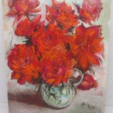 Arte: PEQUEÑO CUADRO, ÓLEO SOBRE LIENZO, FIRMADO ALBERTO GIL 1995. Lote 95312767