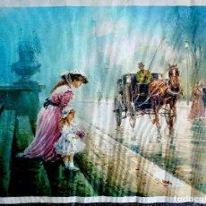 Arte: PARISIEN. PINTOR TOMÁS MARTORELL. ÓLEO SOBRE LIENZO. MEDIDAS 54 X 66 CMS.REPRODUCCION DEL ORIGINAL .. Lote 95493891