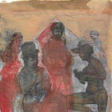 Arte: PINTURA *LA TIMBA* -RAÚL ROMERO ALTARES- AÑO 198?.. Lote 95723171