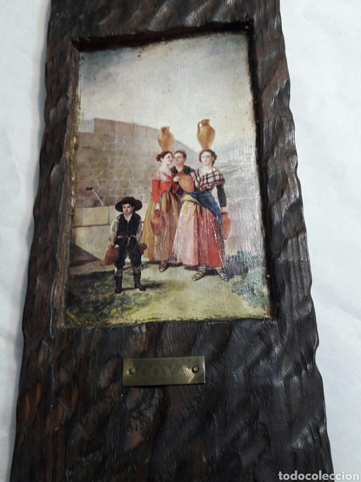 Arte: Lote 4 cuadros totalmente rústicos hechos a mano - Foto 3 - 95732163