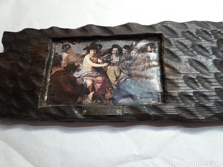 Arte: Lote 4 cuadros totalmente rústicos hechos a mano - Foto 4 - 95732163