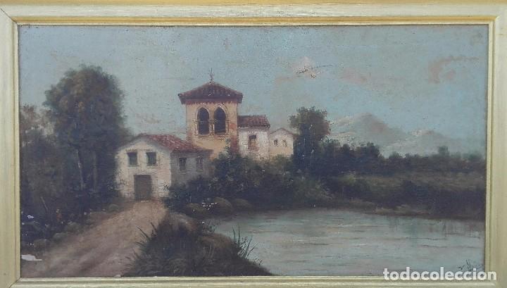 Paisaje Al Oleo De Escuela Andaluza Del Siglo X Comprar Pintura Al óleo Moderna Siglo Xix En Todocoleccion 95751795