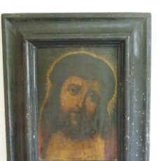 Arte: ANTIGUO OLEO SOBRE TABLILLA CRISTO SIGLO XVII. Lote 95885103