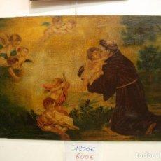 Arte: PINTURA SAN ANTONIO SIGLO XVII. Lote 95895451