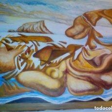 Arte: COPIA AL OLEO DE CUADRO DE DALI. Lote 95927859