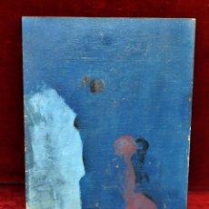 Arte: JORDI CASACUBERTA I CODINACH (OLOT, GARROTXA, 1944) ACRILICO SOBRE TABLA DEL 1978. DE TEMA ABSTRACTO. Lote 96212231