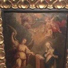 Arte: VAN HERP, WILLEM ((AMBERES, H. 1614-1677): ANUNCIACIÓN. Lote 96303463