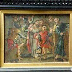 Arte: OLEO SOBRE COBRE.ESCUELA HOLANDESA S XVII. Lote 96461575