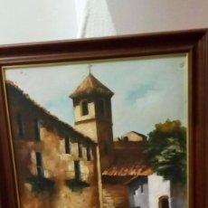 Arte: OLEO SOBRE TELA AÑOS 70. Lote 96559911