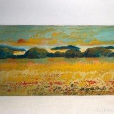 Arte: PAISAJE OLEO SOBRE TABLEX FIRMADO J.LOSAN.. Lote 96682919