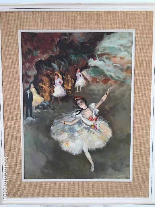 OLEO SOBRE LIENZO BAILARINAS (Arte - Pintura - Pintura al Óleo Moderna sin fecha definida)