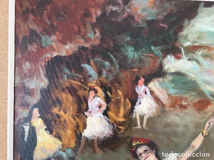 Arte: oleo sobre lienzo BAILARINAS - Foto 10 - 57753427