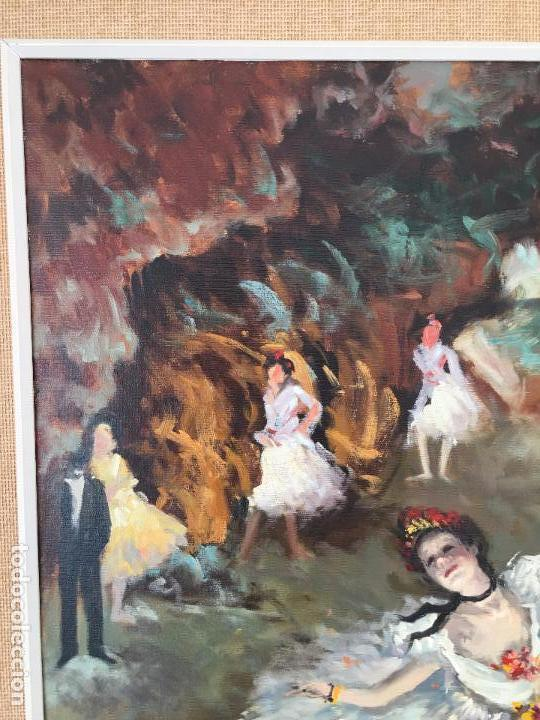 Arte: oleo sobre lienzo BAILARINAS - Foto 11 - 57753427
